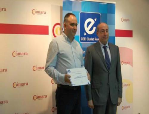Premio Emprendedor 2014 por el CEEI de Ciudad Real